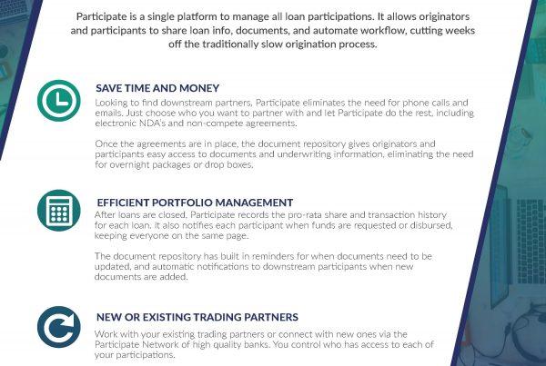 Loan Participation Software